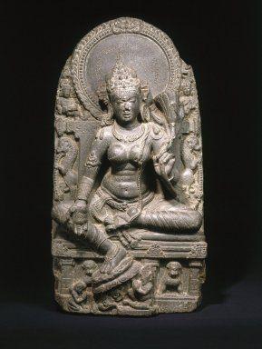 Seated Tara, Pala Period, 750-1200.