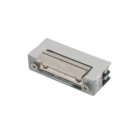 Yala electromagnetica 41NF. CARACTERISTICILE YALEI ELECTROMAGNETICE INCASTRATE 41NF Yala electromagnetica 41NF - NO, are dimensiuni reduse, limba ajustabila, zavor radial, simetrica, reversibila, montare pe usi cu toc ingust Alimentare: 1.2A, 12Vca/cc  Actionare: alimentare 10-15 sec Inchisa fara alimentare (fail secure) Temperatura: -15C ~ 40° Dimensiuni: 67 x 16,4 x 28 mm