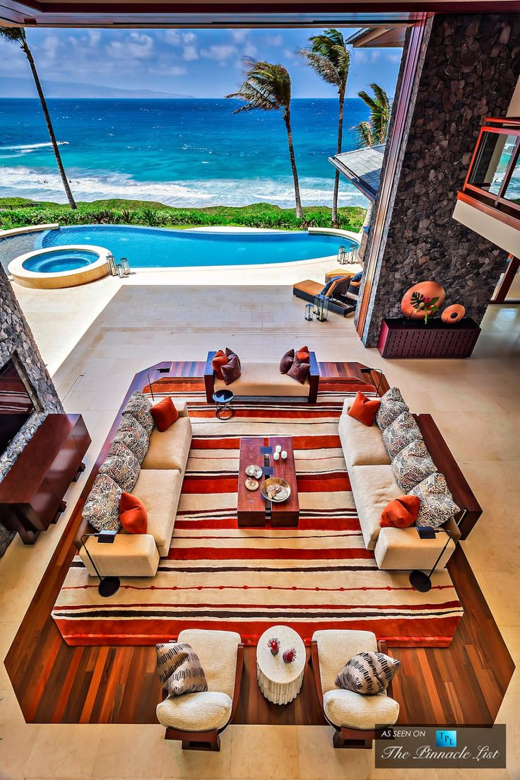 This would definitely be my dream vacation home! :) LOOKandLOVEwithLOLO: 3 Kapalua Place....Maui Beach House
