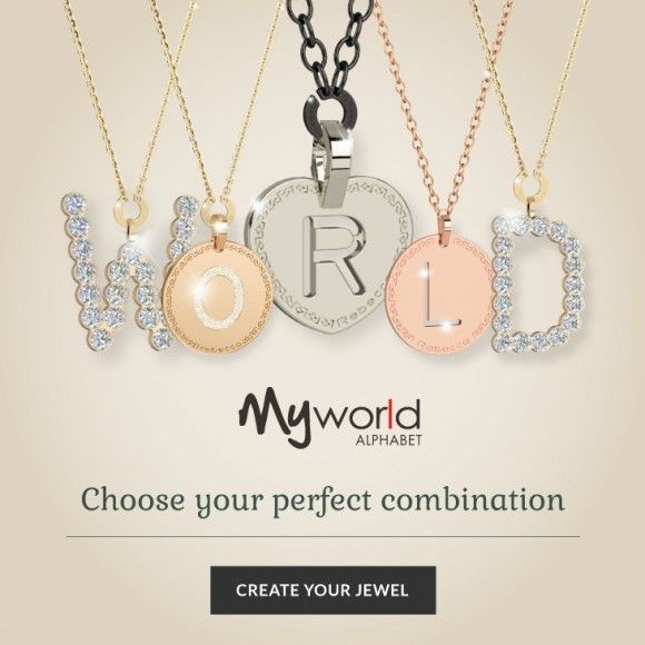 Rebecca My World Collection necklaces, bracelets, rings and more are telling your stories! #RebeccaJewels #MyWorld #ChronographArmenia #ShopNow