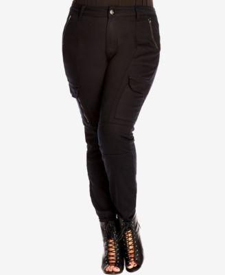 City Chic Plus Size Cargo Pants | macys.com