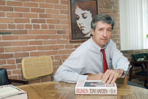 CONVERSION: With a Powerful Essay, Famous Social Activist Tom Hayden Switches From Bernie To Hillary