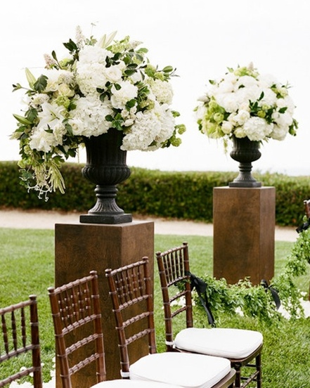 Ceremony Entrance Plinths Outdoorwedding Collection26 Weddings