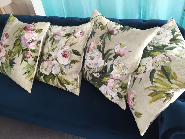 Floreale grande natural, Designers Guild - Decorative pillow/cushion cover by AdoreDesignLucie on Etsy
