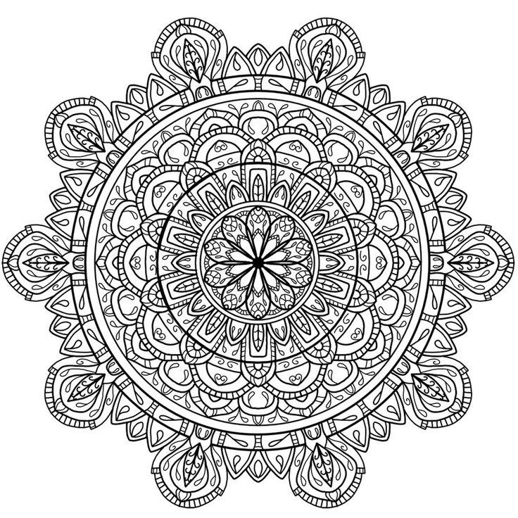 mandala para colorear by welshpixie on deviantart circles mandala 4 coloring page mandala