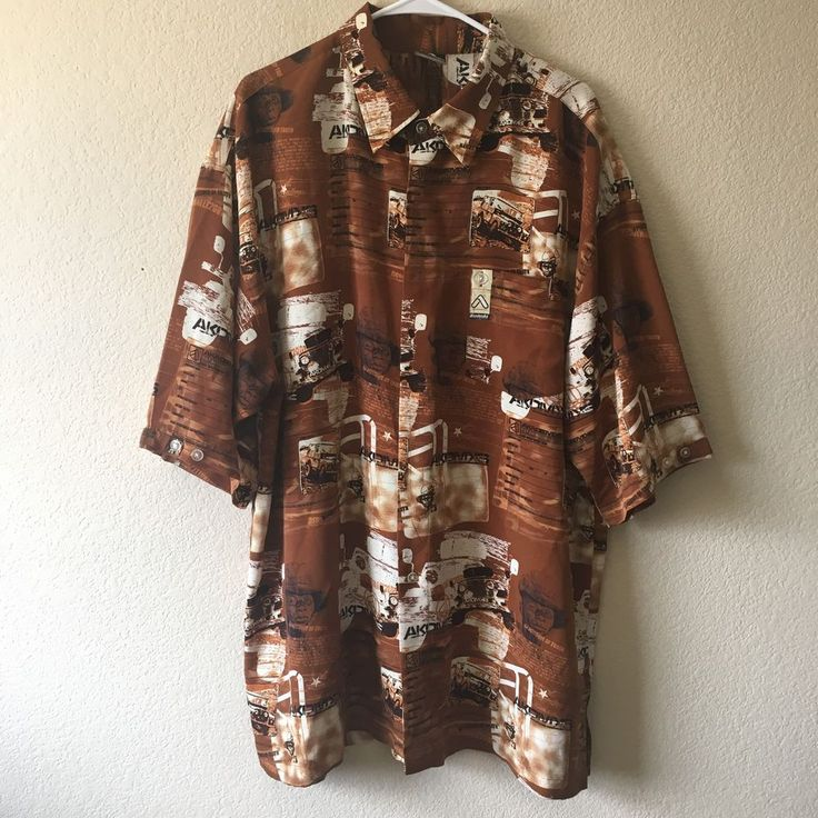 RARE Akademiks in pursuit of truth Button Down Shirt Desert Rally 2001 Sz XXL   | eBay