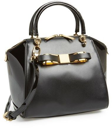 Ted Baker London Small Leather Tote on shopstyle.com