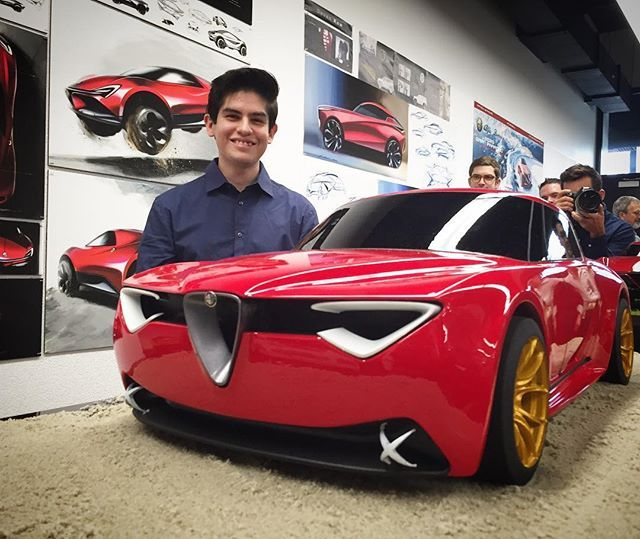 Alfa Romeo Vettore Concept Presented By Charlie Angulo Art