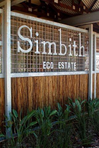 Simbithi Eco Estate Community Centre Signage