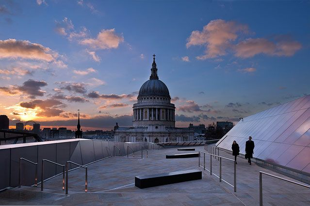 One New Change Roof Terrace - London City Secrets - Things to Do in London - City Guides (houseandgarden.co.uk)