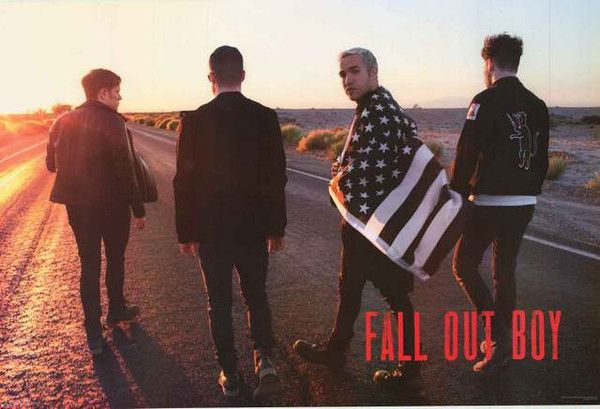A great poster of Patrick Stump and Fall Out Boy taking their Pop Punk on the road in search of the American Dream! Fully licensed - 2015. Ships fast. 24x36 inches. Check out the rest of our fantastic