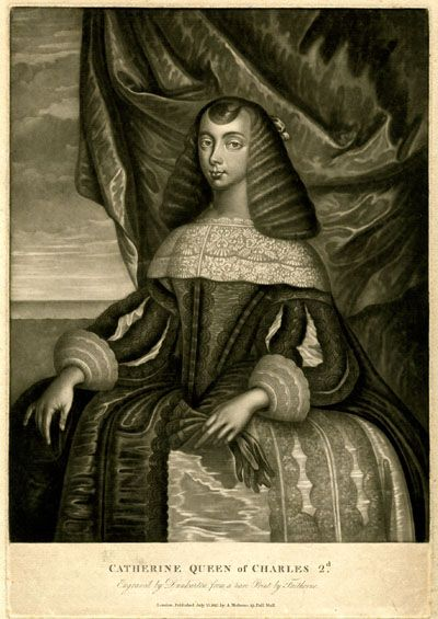 Catherine - The First British Tea-Drinking Queen -