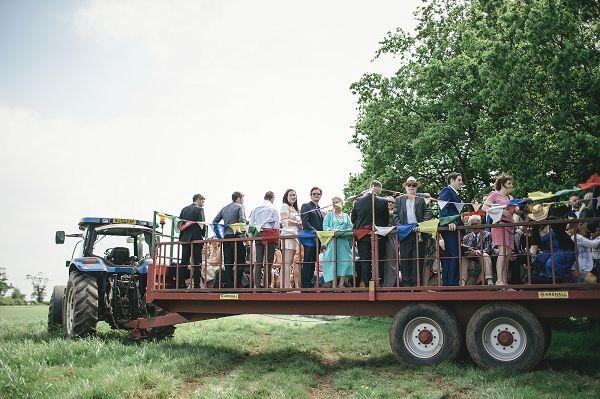 Wedding Tractor Trailer http://www.kat-hill.com/