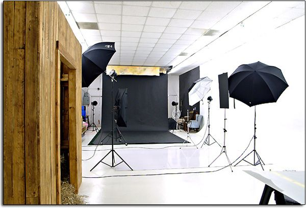 A large Photography studio!