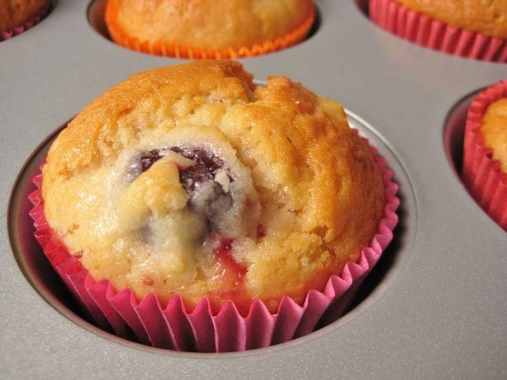 Kleurrijk Eten: Bosvruchten muffin