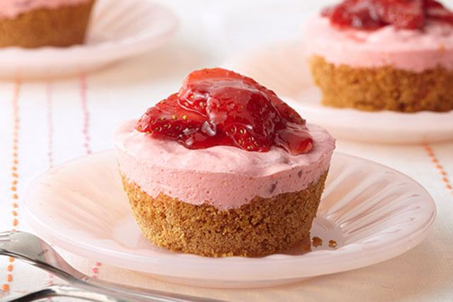 Dessert bliss, in a size just for you. No fighting over who has more creamy topping or lush strawberries, just delectable silence as everyone digs in.