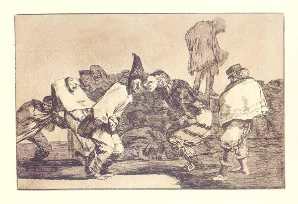 Goya. Disparate de carnaval
