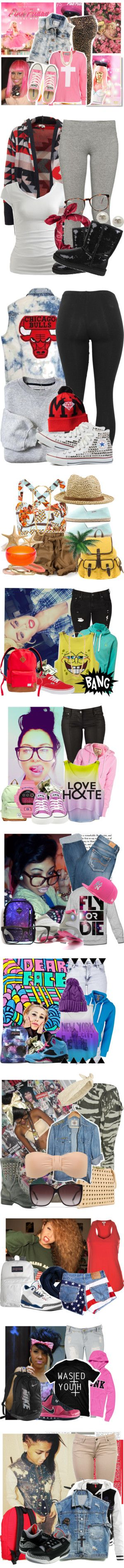 """Swagg Part 10"" by littlemissdeaja ❤ liked on Polyvore"