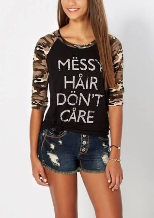 rue 21 shirts for teens - Google Search                                                                                                                                                                                 More