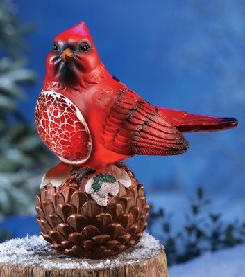 Cardinal Solar Garden Light
