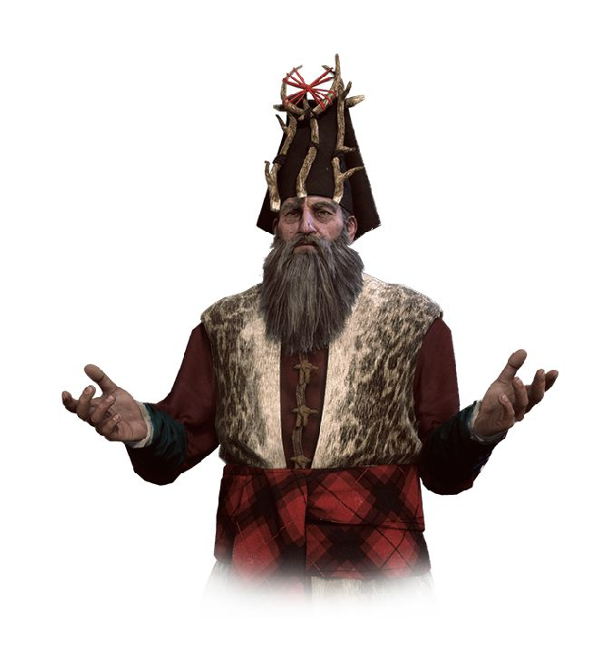 "Mousesack (Polish: Myszowór) is a skilled and intelligent druid, and also a good friend and advisor to King Bran of Skellige, as well as of Queen Calanthe of Cintra. He has a thickset and robust appearance and wears a bushy beard. Mousesack appears in the following short stories: ""A Question of Price"", ""The Sword of Destiny"", ""Something More"" and ""Coś się kończy, coś się zaczyna"" (non-canon)."