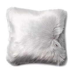 Alpine Fur Moonrock Cushion  - Home Republic