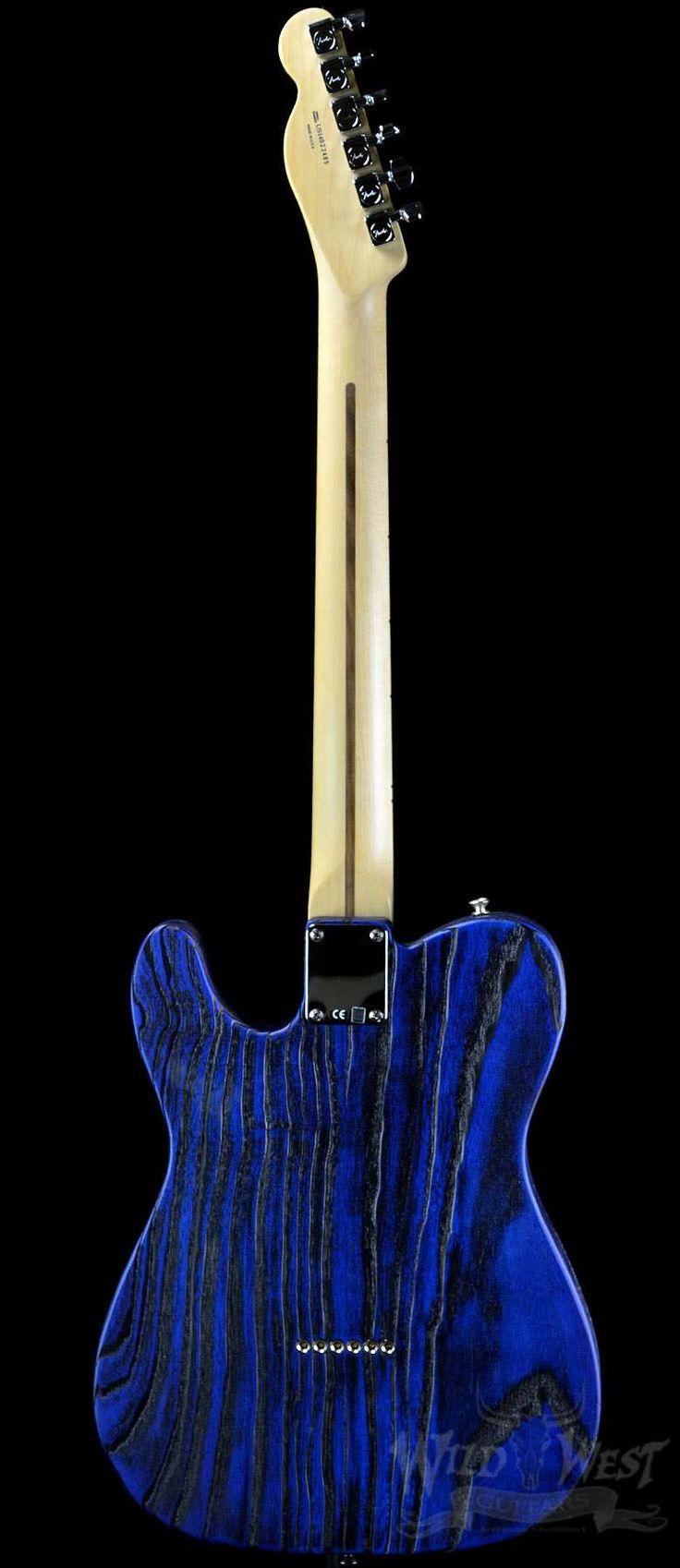 Fender USA Limited Edition Sandblasted Telecaster Sapphire Blue Transparent