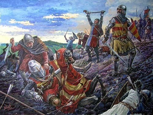 Bannockburn Battle Historical Mainly British