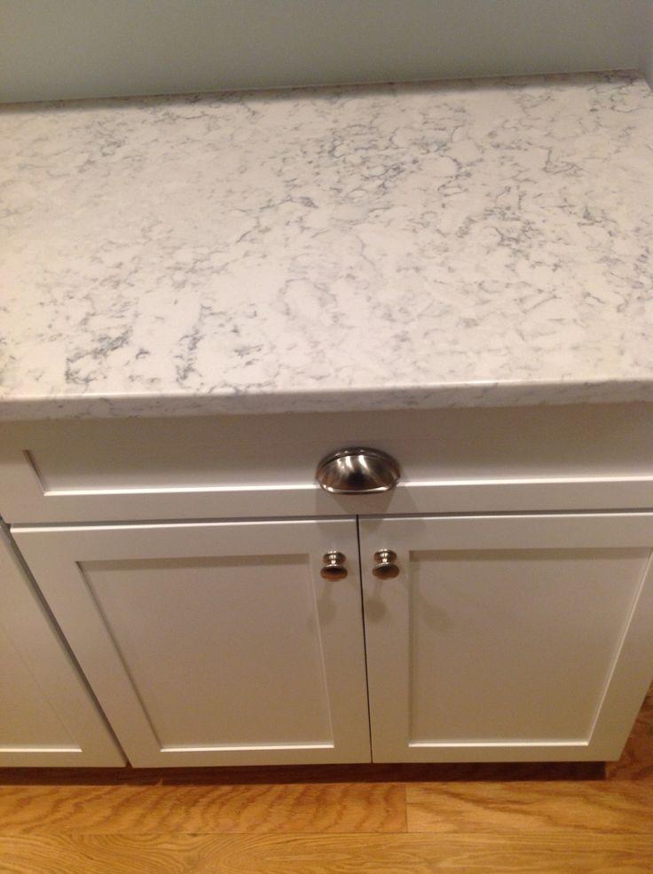 Silestone Helix countertop. Really looks like marble.