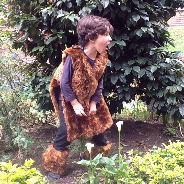 Cavernícola Caveman kids costume