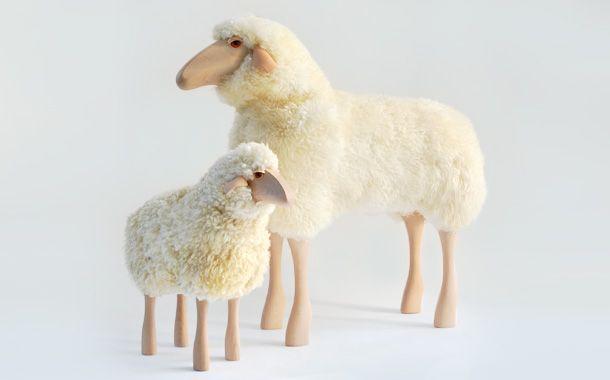 メイヤーの羊と子羊 (Meier Sheep & Lamb): デザイナーズ家具・インテリアの通販 hhstyle.com