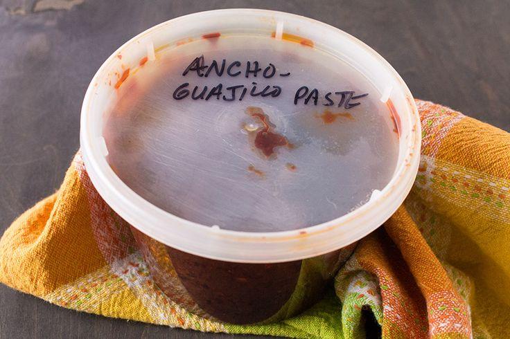 Ancho-Guajillo Chili Paste - Chili Pepper Madness