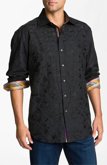 Robert Graham 'Germaine' Sport Shirt.