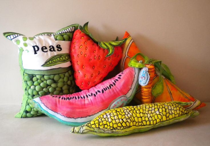Emma Pyrah food cushions