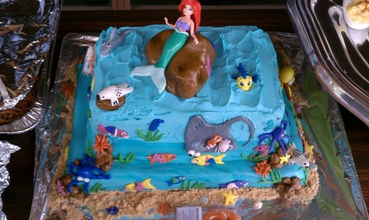 little mermaid cake: Little Mermaids Cakes, Little Mermaid Cakes, Food Kids Cakes, Photo, Parties Cakes