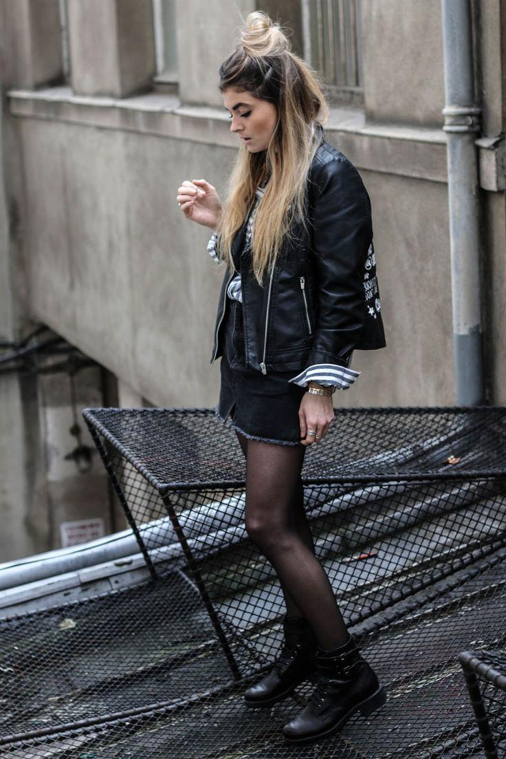 Street style legwear looks www.marieandmood.com - Fashionmylegs : The tights and hosiery blog