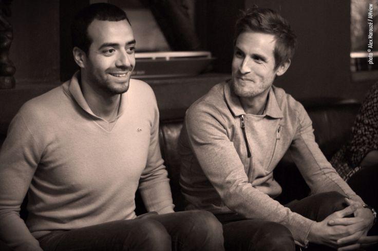 Tarek Boudali et Philippe Lacheau