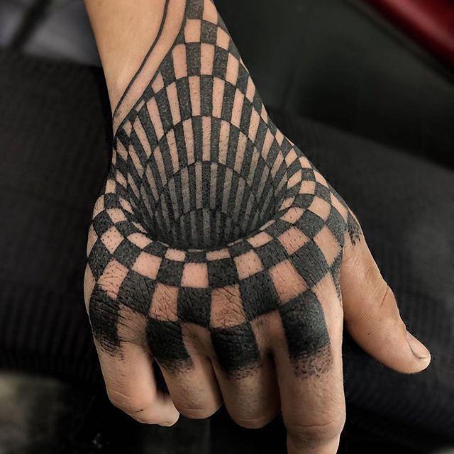 Optical Illusion Of Robbie Dunk Optical Illusion Dunk Octopustatto Optical Illusion Tattoo Tattoos Octopus Tattoo