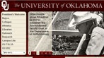 The University of Oklahoma - A leading public university uses Adobe® Digital Marketing Suite   for Web Experience Management to distribute content authoring   campus-wide easily and efficiently while delivering a brandconsistent online experience