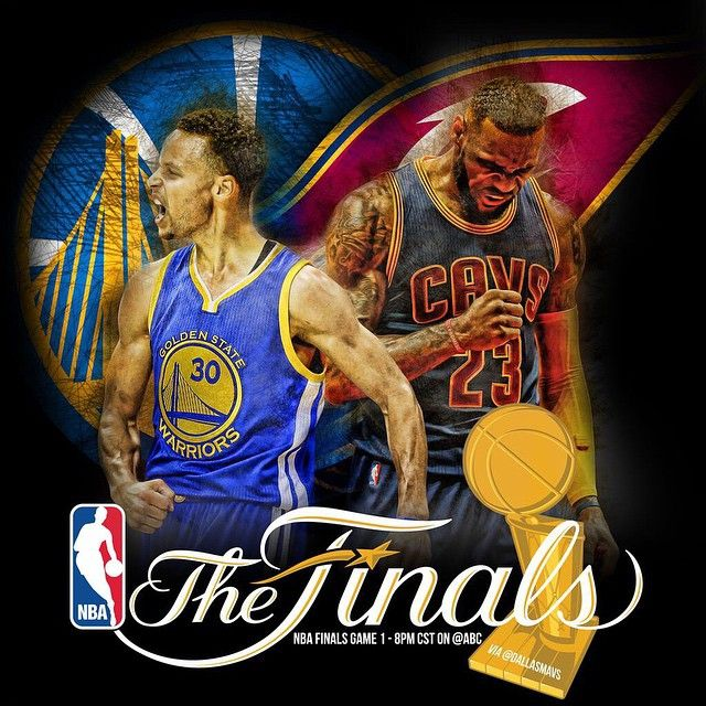「Congrats to the @warriors & the @cavs on making it to the @NBA finals! GAME: 8PM CST on @ABC. We hope you win! 」