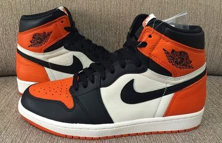 "THE SNEAKER ADDICT: Air Jordan 1 ""Shattered Backboard"" Sneaker (Detail..."
