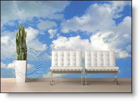 Clouds Peel And Stick Wall Mural Part 88
