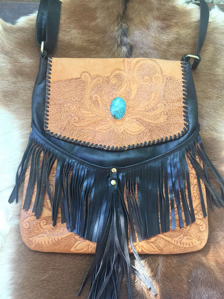 A personal favourite from my Etsy shop https://www.etsy.com/au/listing/503682832/turquoise-bag-dark-brown-and-tan-leather
