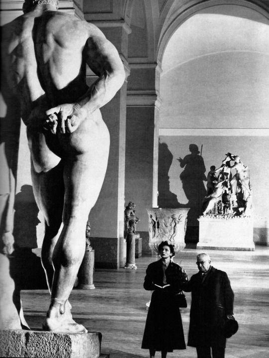 Ingrid Bergman in journey to Italy (1954, dir. Roberto Rossellini)