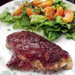 Raspberry-Glazed Rosemary Chicken - Allrecipes.com