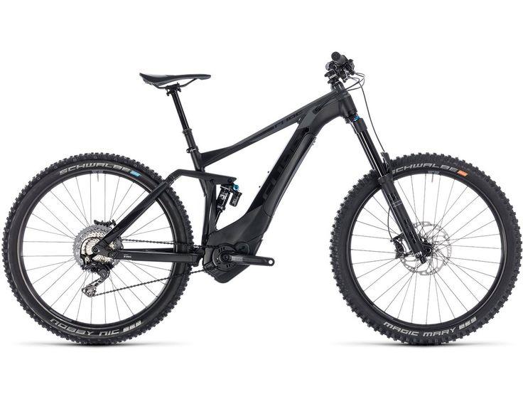 Cube Stereo Hybrid 160 SL 500 27.5 black´n´grey aus der Kategorie E-Bike Fully Bild 1