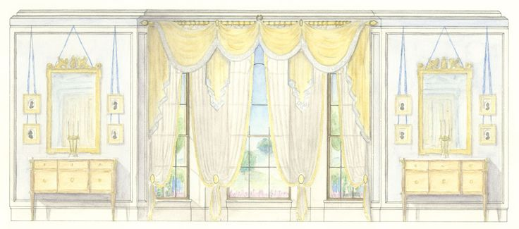 Neoclassical Drawing Room