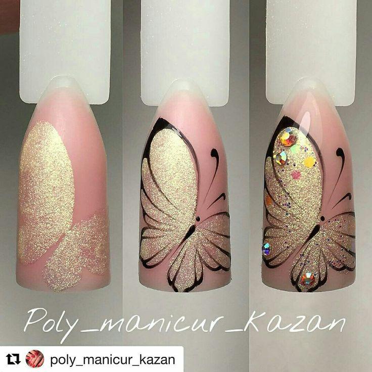 Mariposa paso a paso