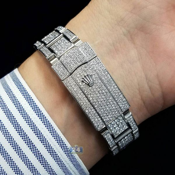 Custommade Usa Nyc Diamonds Band Authentic Rolex Bracelet Jeweler Handsome Motivation Rich Inspiratio Brand Name Watches In 2018