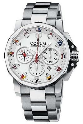 Corum Admiral's Cup Challenge 44 #luxurywatch #Corum-swiss Corum Swiss Watchmakers watches #horlogerie @calibrelondon
